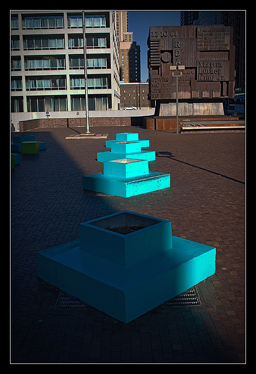 Blue Pots