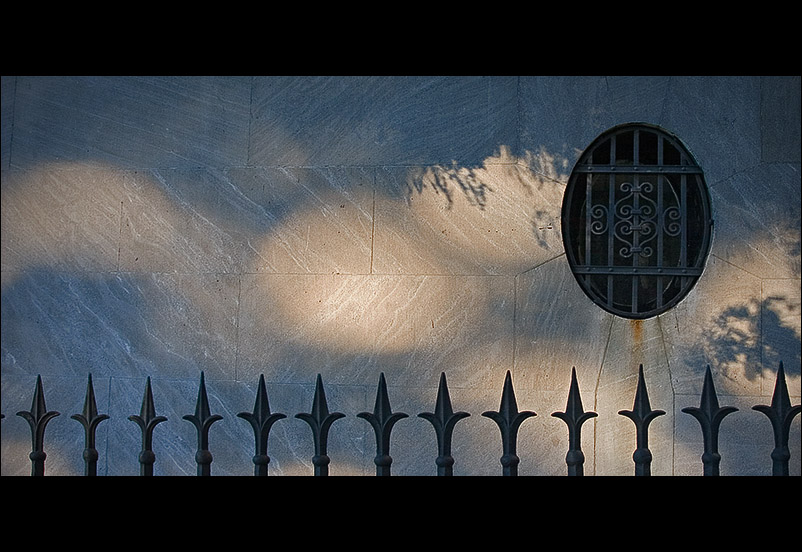Grate Shadows Fence