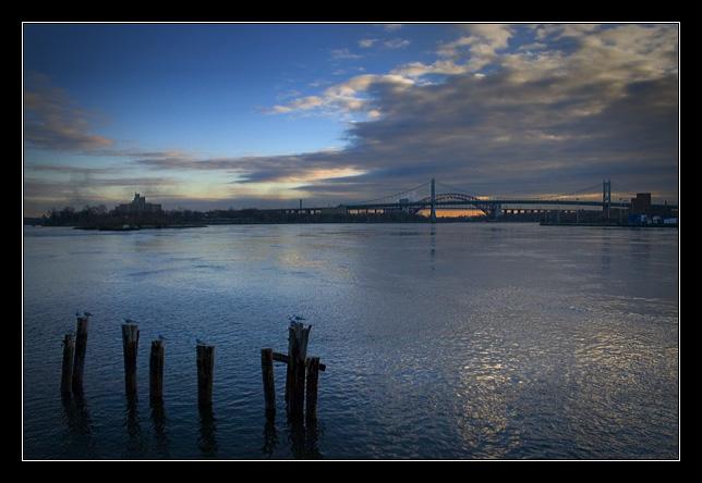 Seagulls, Posts and Bridges