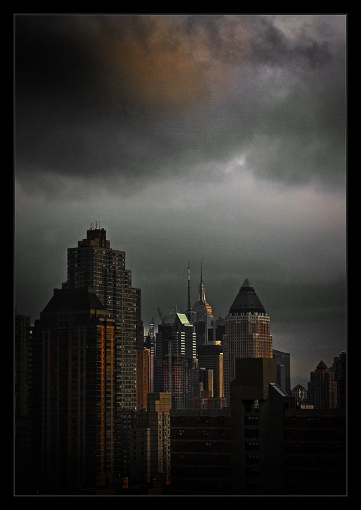 Storm over the Empire State Building