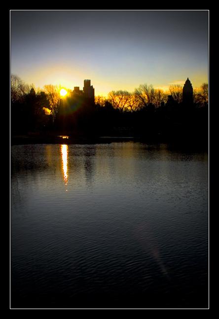 Sunrise Over the East Side