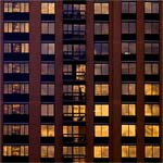 West Side Windows Reflect the Sunset #2